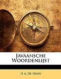 Javaansche Woordenlijst, H. a. De Nooy, 1141322757