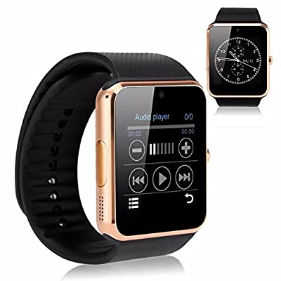 YEMON Smart Watches Bluetooth with Camera Compatible with Iphone Android That Can Text Rose Gold / Silver / Grey