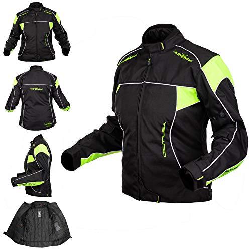 A-Pro Oxford jas dames textiel CE protectoren thermovest motorfiets waterdicht