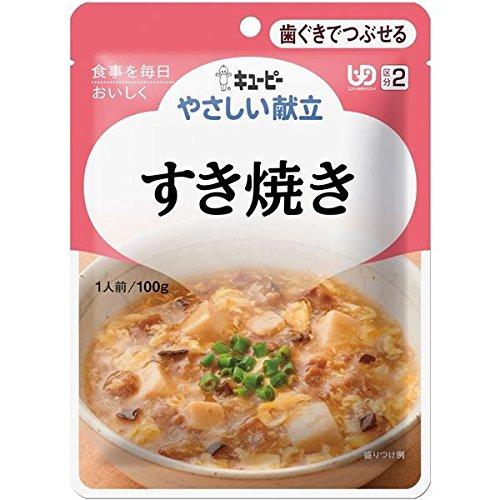 (まとめ) キューピー 介護食 やさしい献立 Y2-15 (15) すき焼き 6袋 Y2-15 20143 【×15セット】 B07D1KJ39J