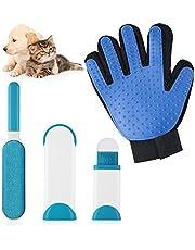 LOETAD Brosse Anti Poils Animaux Gant Animaux Poils de Massage Brosse de Nettoyage Réutilisable Petite Facile à Transporter Les Vêtements Le Canapé
