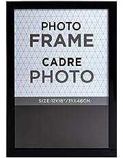 Truu Design Classic PS Wall Photo Frame, 12 x 18 inches, Black