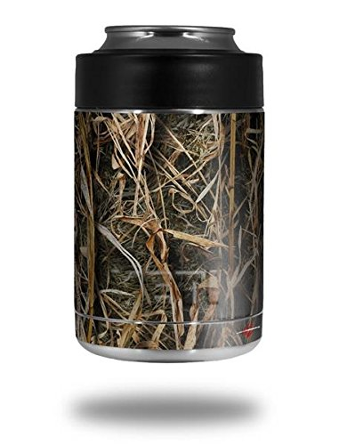 Skin Decal Wrap for Yeti Colster, Ozark Trail and RTIC Can Coolers - WraptorCamo Grassy Marsh Camo (COOLER NOT INCLUDED) by WraptorSkinz