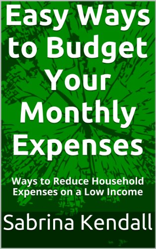 Easy Ways to Budget Your Monthly Expenses: Ways to Reduce Household Expenses on a Low Income