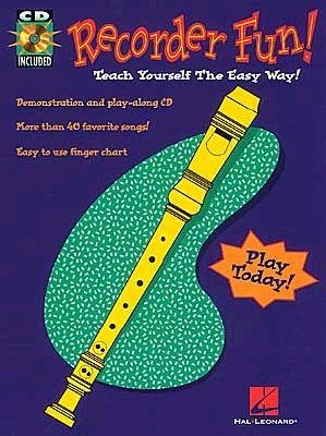 - [(Recorder Fun! Teach Yourself the Easy Way!)] [Author: Hal Leonard Publishing Corporation] published on (January, 1997)