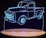 1950 Dodge Fargo Pickup Truck Acrylic Lighted Edge Lit 13
