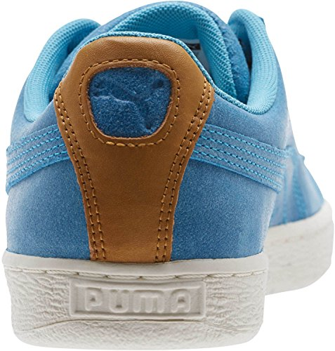 Puma Herren Wildleder Deco Schuhe Aquarius/Golden Brown