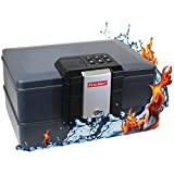 First Alert 2602DF 0.36CF Waterproof Fire Chest with Digital Lock