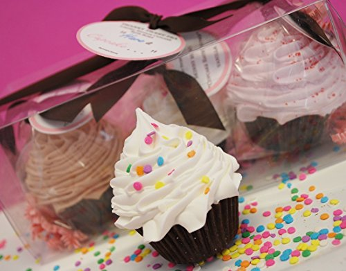 Scentsations By Cam Body Dessert Trio Cupcake Bath Bombs Gift Pack ()