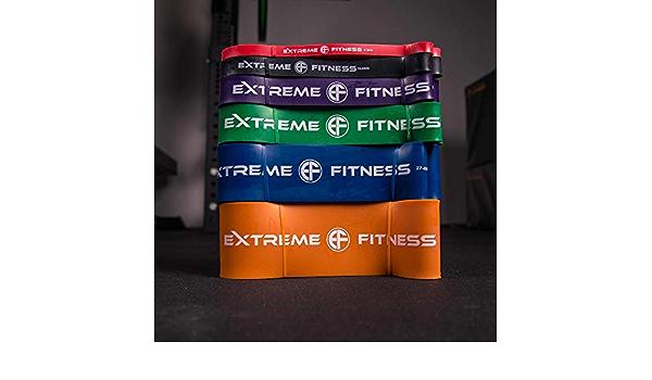 Bandas de resistencia para fitness de Extreme Fitness, aptas ...