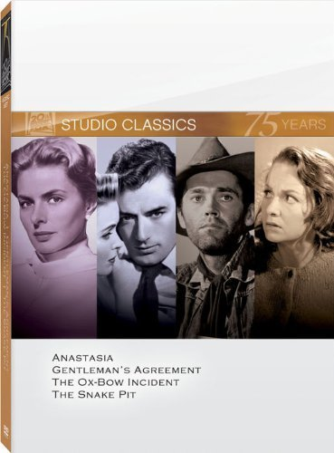 Classic Quad Set 7 (Anastasia / Gentleman's Agreement / The Ox-Bow Incident / The Snake Pit) by 20th Century Fox