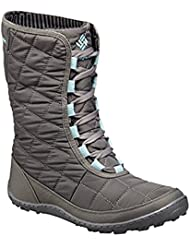 Columbia Womens Crystal Mid Lace Thermal Coil Waterproof Winter Boots