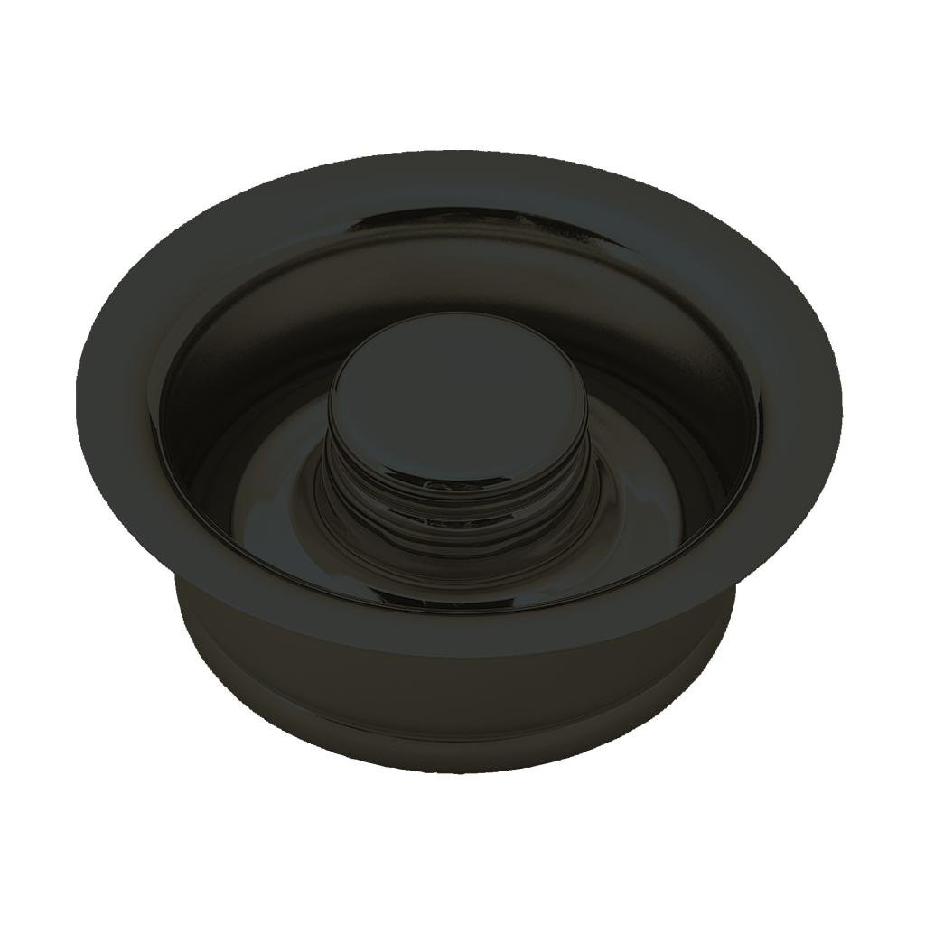 Westbrass InSinkErator Style Disposal Flange and Stopper, Oil Rubbed Bronze, D2089-12