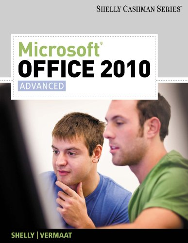 Microsoft Office 2010: Advanced (SAM 2010 Compatible Products) Pdf