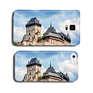 panoramic view of castle Karlstejn, Czech Republic cell phone cover case Samsung S5