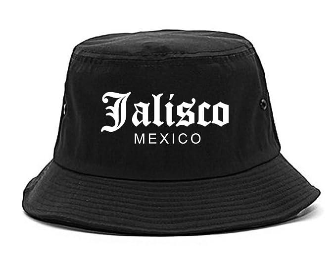 Kings Of NY Jalisco Mexico Mens Bucket Hat Black at Amazon Men s ... 714b16419