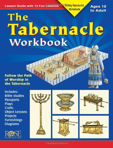 Workbook bible studies for kids worksheets : The Tabernacle Workbook: Lesson Guide with 12 Fun Lessons: Nancy ...