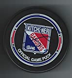 Jerry D'Amigo Signed Kitchener Rangers Official Game Puck - Autographed NHL Pucks