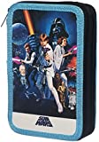 Star Wars Double Filled Pencil Case - A New Hope Sci-Fi Stationary Cool Gift