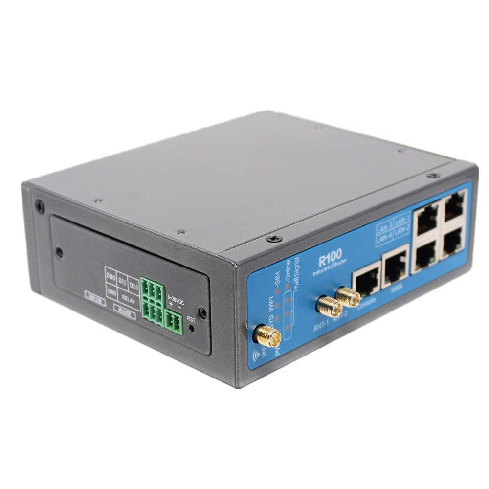 Yeacomm Router WiFi Industrial LTE 4G, enrutador Celular M2M ...