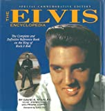 Front cover for the book The Elvis Encyclopedia: The Complete and Definitive Reference Book on the King of Rock & Roll by David E. Stanley