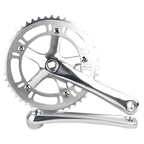 SENQI 46T Single Speed Fixed Gear Crankset Cranks ()
