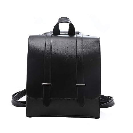 8ee886d70e25 Cinhent Backpacks Women Retro British Business Wind Simple Large-Capacity  Bag (Black)