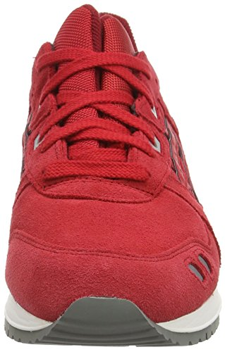 Rouge Red Adulte Red Mixte 2323 Basses Gel Sneakers Asics Lyte III wnFBz0xSq
