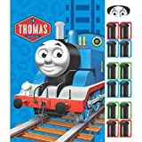 """Fun Thomas The Tank Birthday Party Game Activity, 24"""" x 37"""", Pack of 14."""