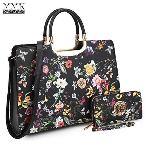 8e85c0c28f MMK Collection Fashion Pad-lock Satchel handbags with wallet(8808)~Designer  Purse for Women ~Multi Pocket ~ Perfect Women Purse and wallet~ Beautiful  ...