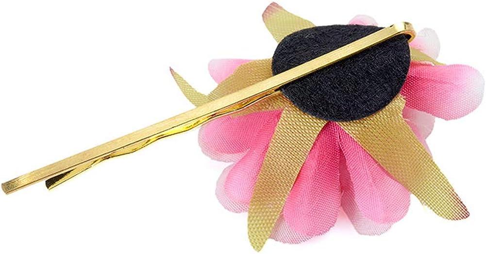 Yazilind Fleur Artificielle Pince /à Cheveux Banquet Coiffe Bord de Mer Plage Accessoires Cheveux