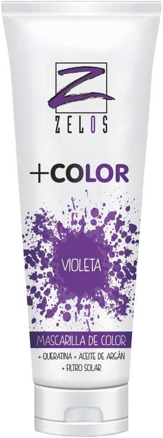 Mascarilla de Color para el Pelo - Violeta - 200 ml ...