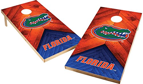 (Wild Sports NCAA College 2'x4' Florida Gators Cornhole Set)