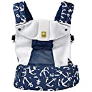 SIX-Position, 360° Ergonomic Baby & Child Carrier by LILLEbaby - The COMPLETE Airflow (Blue w/Anchors)