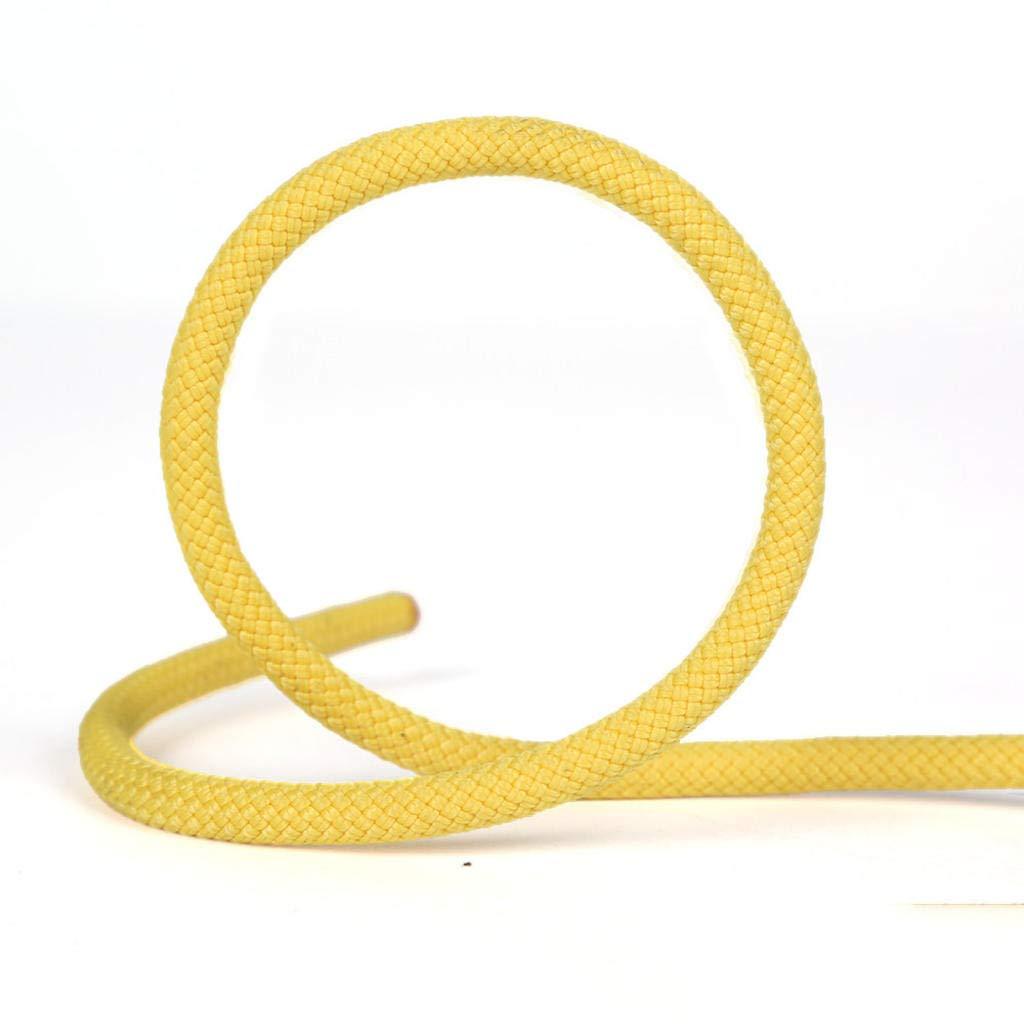 Jaune MODKOY Corde Statique, 8 mm de diamètre extérieur de la Corde de Descente en Rappel sécurité Corde Corde d'escalade auxiliaire 20meters