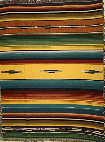 (Santa Fe Southwest Heirloom Collection Tapestry Blanket/Throw)