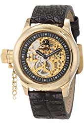 Invicta Women's 10342 Russian Diver Mechanical Gold Tone Skeleton Dial Watch
