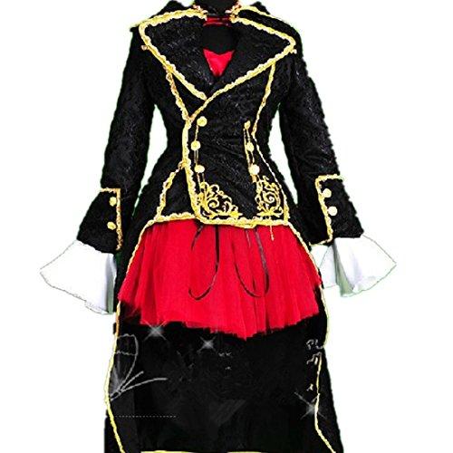Meiko Sakine Cosplay Costume (VOCALOID MEIKO SAKINE cosplay costume Lolita GOTHIC cosplay costume dress)