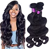 Brazilian Virgin Human Hair Weave 3 Bundles 100 Unprocessed Deal Brazilian Body Wave Hair Weft Extensions Natural Black Color 10 12 14 Inch