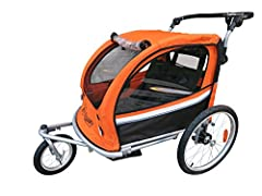 Booyah Strollers - Buy confidently from a trusted brand who has been in the business for 8+ years now. Getting support or replacements parts in the future will not be a problem. Please do you thorough comparison with similar looking trailers....