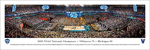 - 2018 NCAA Basketball Champions, Villanova - Unframed 40 x 13.5 Poster by Blakeway Panoramas