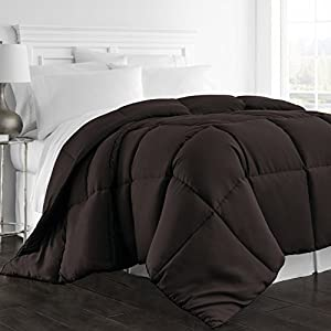 Beckham Hotel Collection 1300 Series - All Season - Luxury Goose Down Alternative Comforter - Hypoallergenic by Beckham Luxury Linens