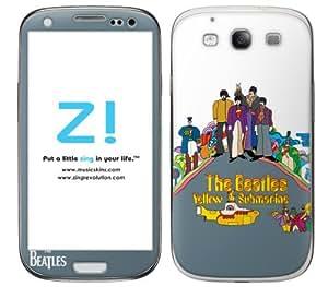 Zing Revolution The Beatles Premium Vinyl Adhesive Skin for Samsung Galaxy S 3, Yellow Submarine Image, MS-BEAT60415