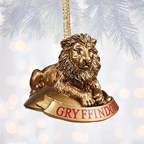 HARRY POTTER GRYFFINDOR LION MASCOT ORNAMENT