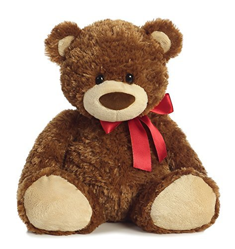 Aurora World Smiles Bear Medium Plush by Aurora World