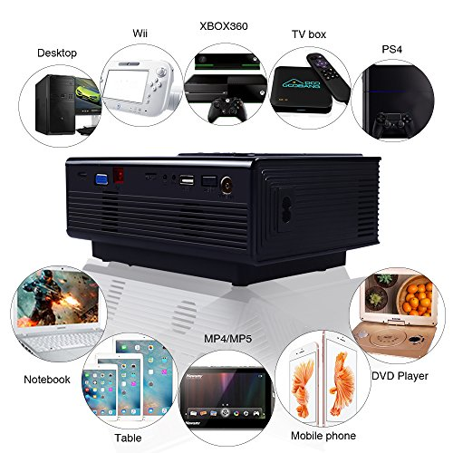 Usa free shipping projector g oobang doo vs314 portable for Mini projector usa
