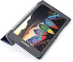 Kepuch Custer Funda para Lenovo Tab 3 8 TB3-850F TB3-850M/Tab 2 A8-50F,Slim Smart Cover Fundas Carcasa Case Protectora de PU-Cuero para Lenovo Tab 3 8 ...