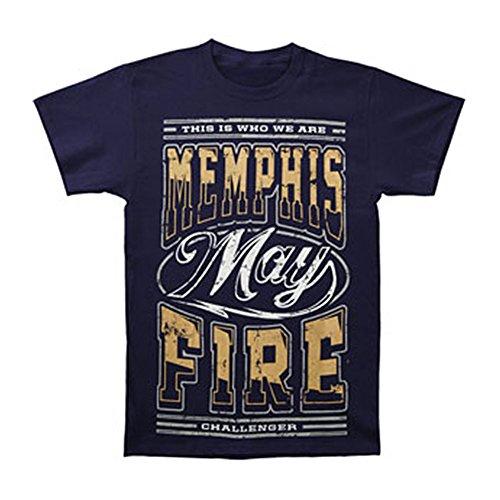 UPC 888700101223, Memphis May Fire Mens Identity T-Shirt S