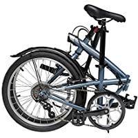 Vira Folding Cycle - Hi-Ten Steel Frame and Light Weight with its 6 speeds and Mudguard
