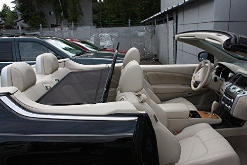 Love The Drive Nissan Murano Crosscab 2011 to 2014 Wind Deflector, Windscreen, Windstop By - Sunroof Wind Deflector Murano